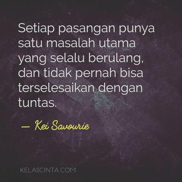 45 Quotes Kei Savourie Yang Membuat Romansamu Menjadi Sukses