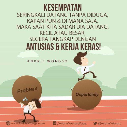 Kata Kata Bijak Andrie Wongso Motivator No 1 Di Indonesia Cerita