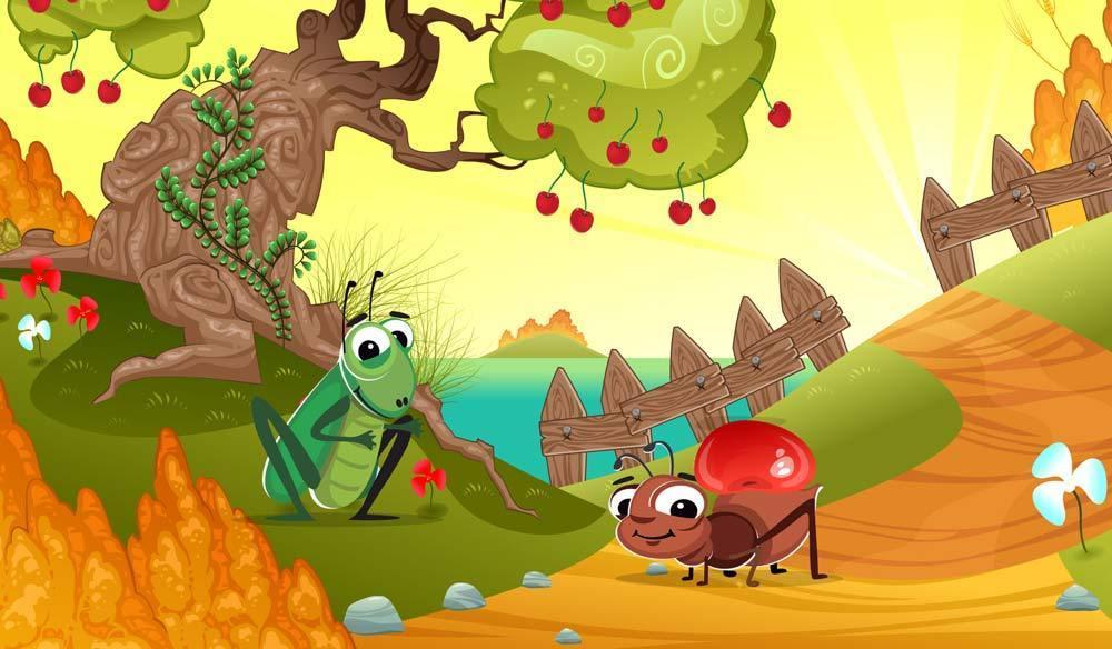Kisah Semut dan Belalang